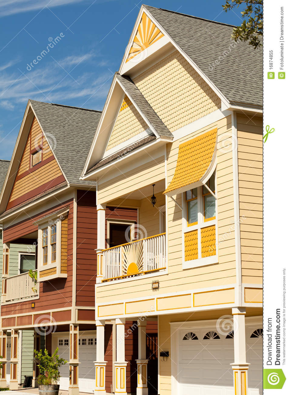 Victorian style homes royalty free stock photo image for Victorian style home builders