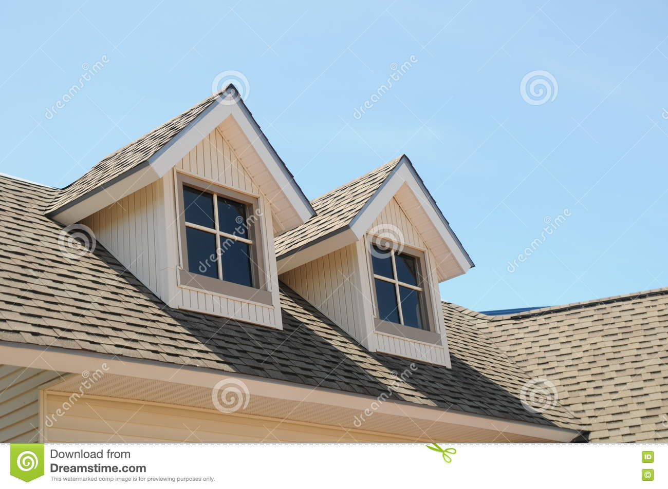 Amazing Royalty Free Stock Photo. Download Victorian Style Roof Dormers ...