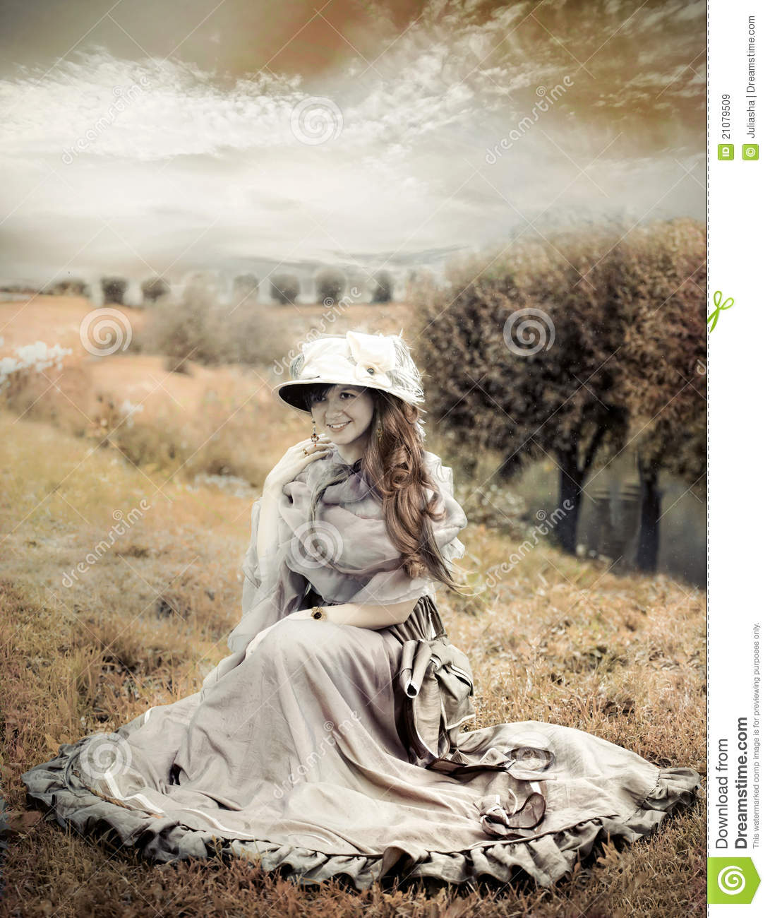 Victorian style woman