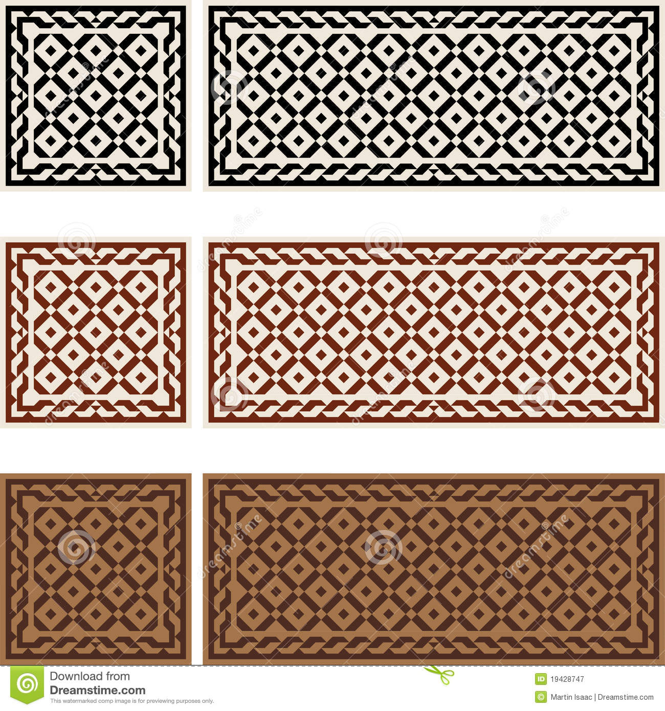 Victorian Tiles Royalty Free Stock Photography - Image: 19428747