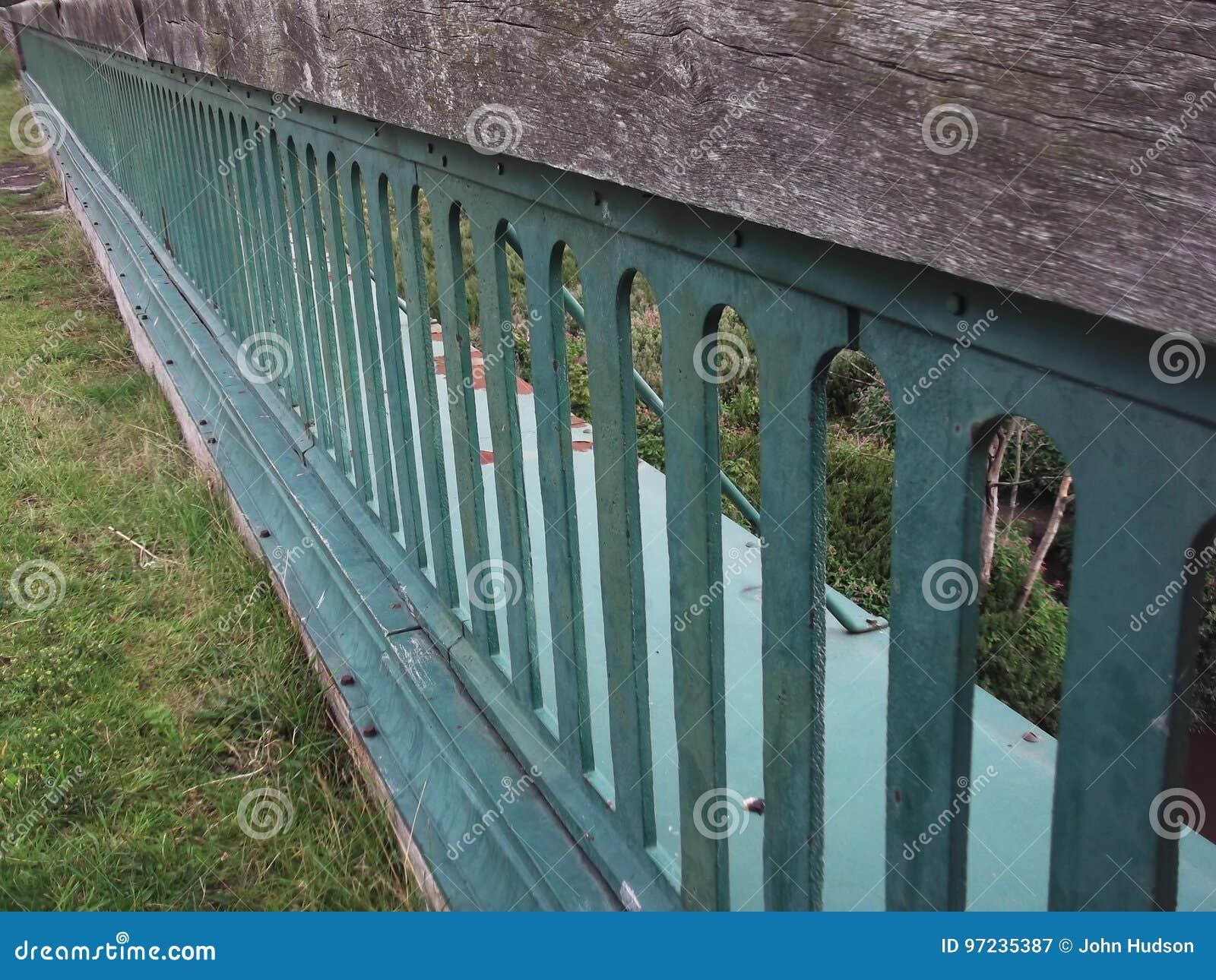 Victorian viaduct railings