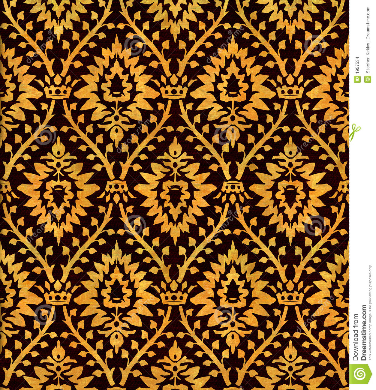 Download Victorian Dolls House Wallpaper Gallery: Victorian Wallpaper 102 Stock Illustration. Image Of Crown
