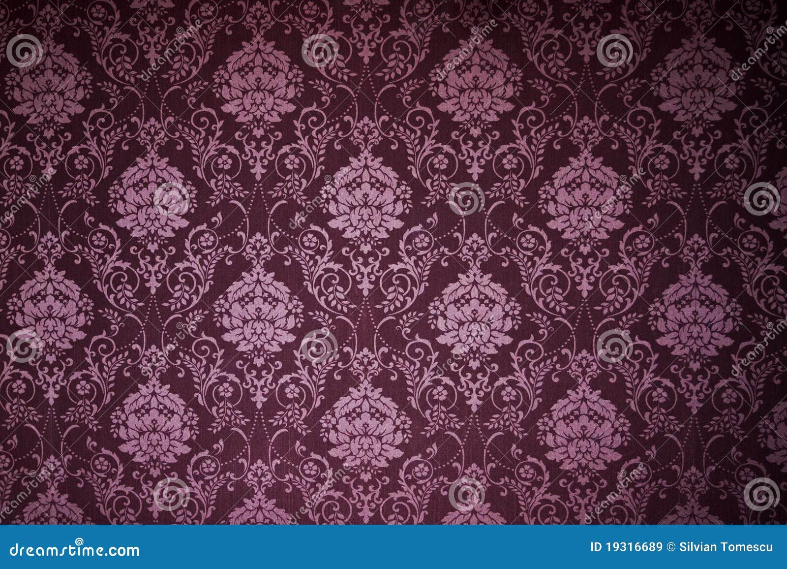 Victorian wallpaper textures