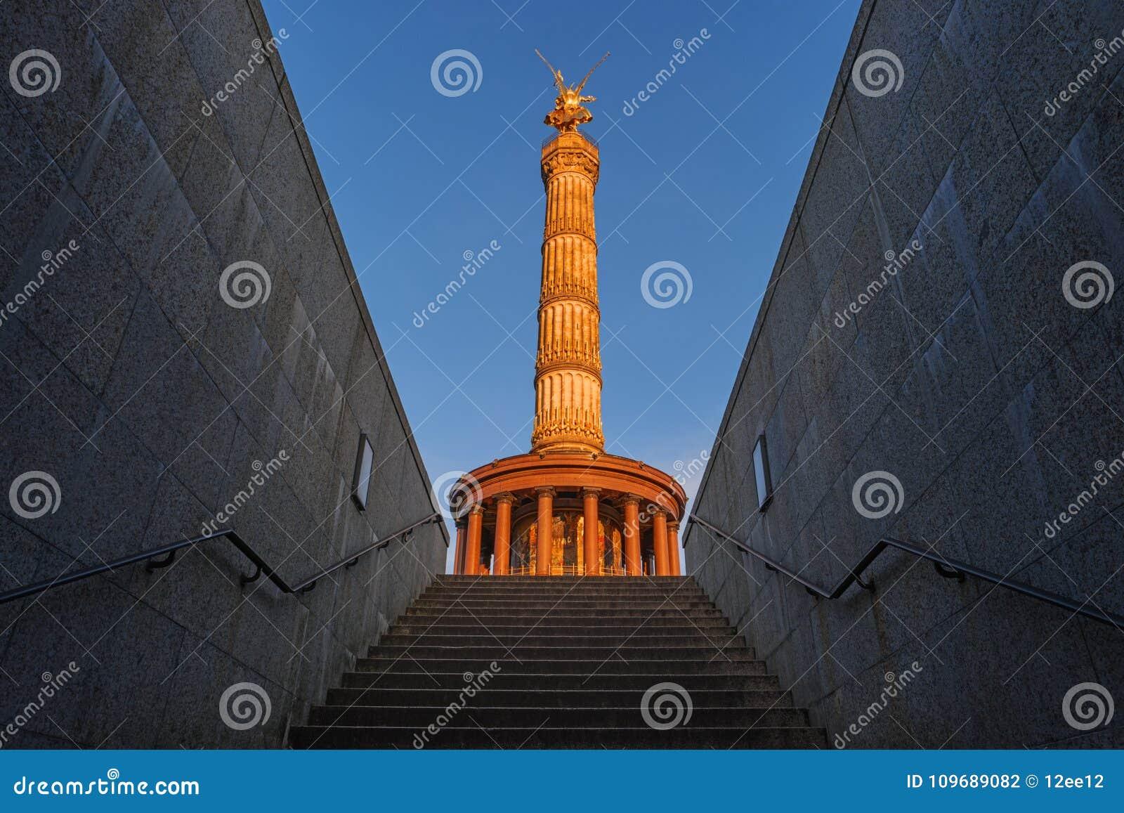 Victory Column Goldelse, Berlin, Tyskland, Europa