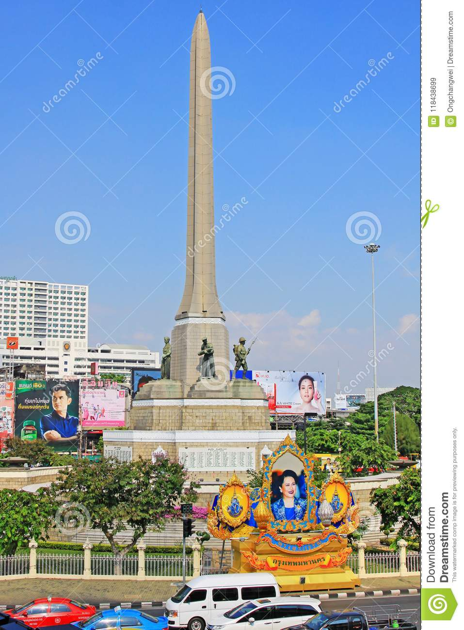 8f9261bd23 Victory Monument is an Obelisk monument in Bangkok