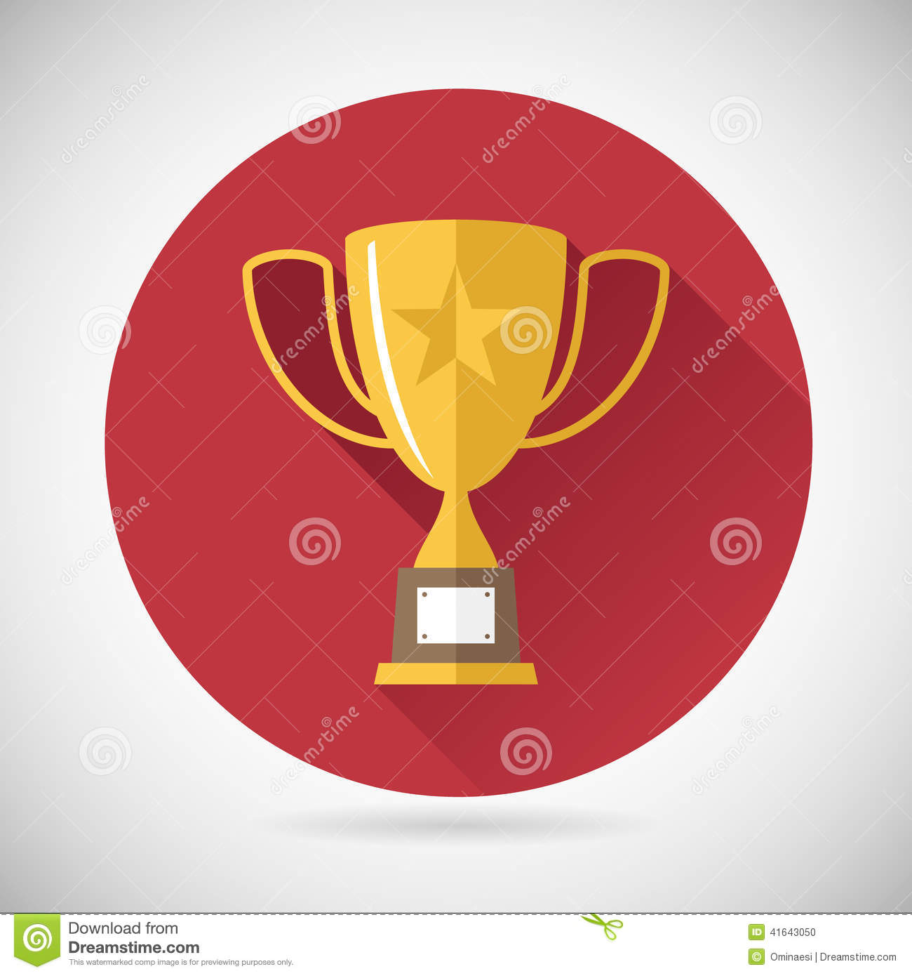 Victory Prize Award Symbol Trophy Cup Icon on