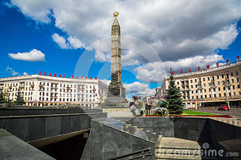 Victory Square, Minsk,