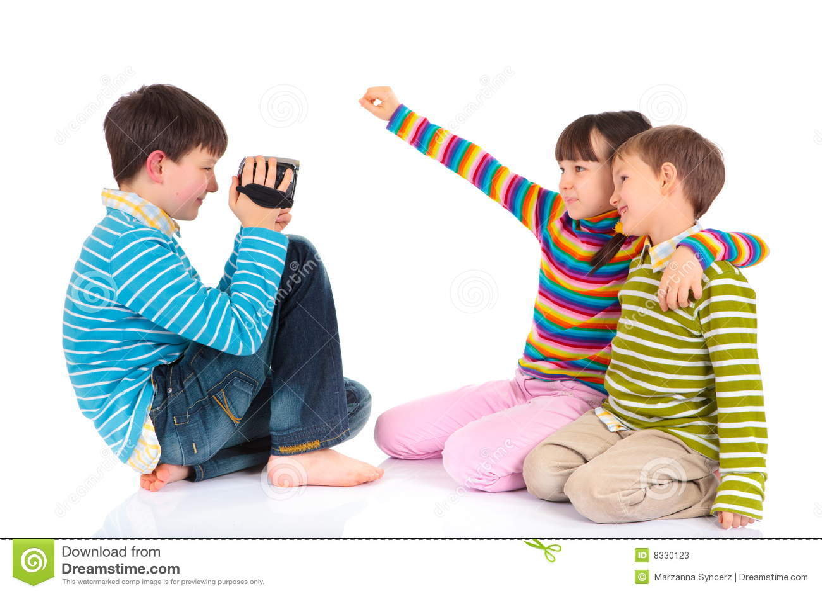 Vidéo d enregistreur d enfants
