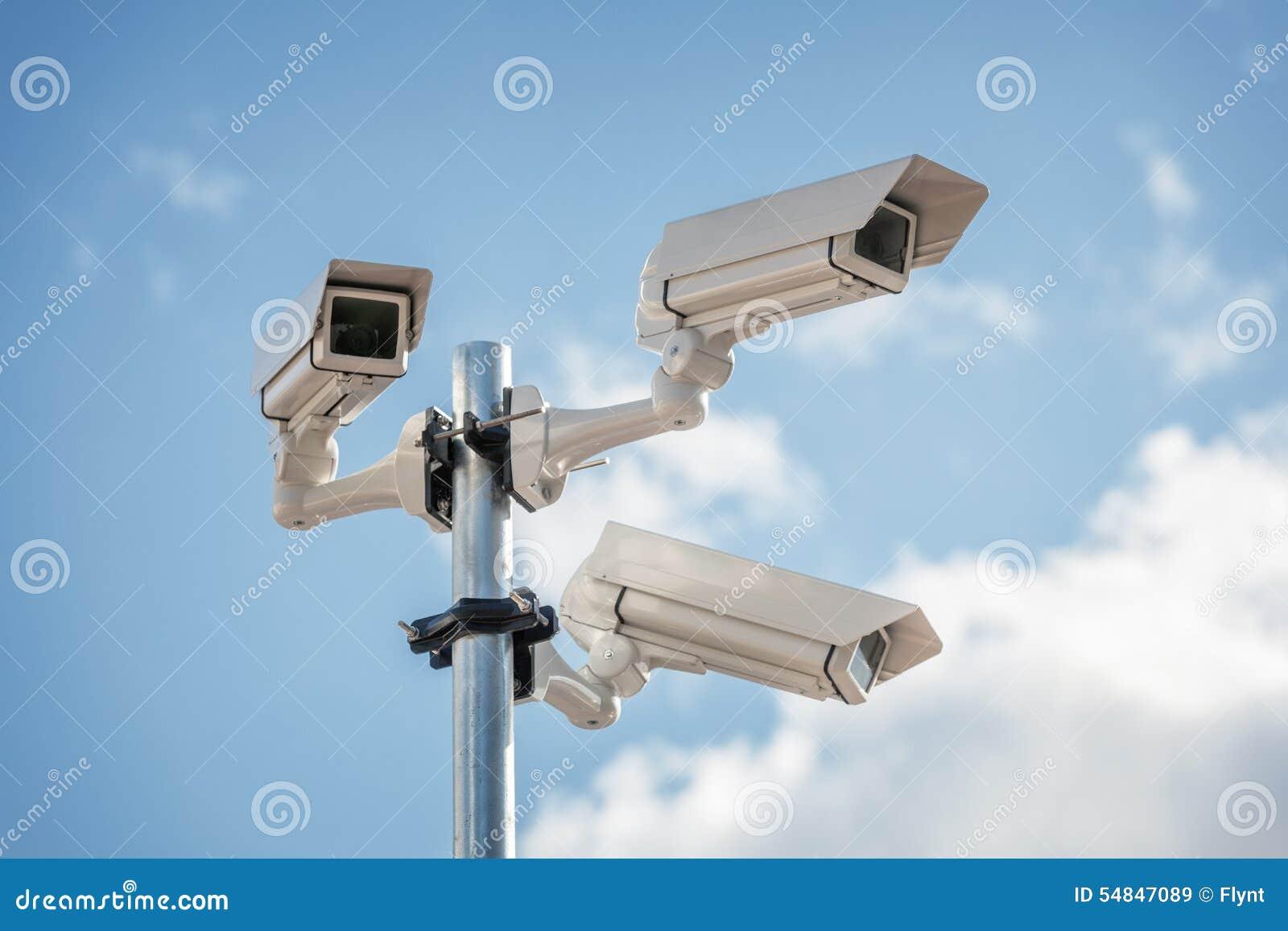 Vidéo surveillance de télévision en circuit fermé de sécurité