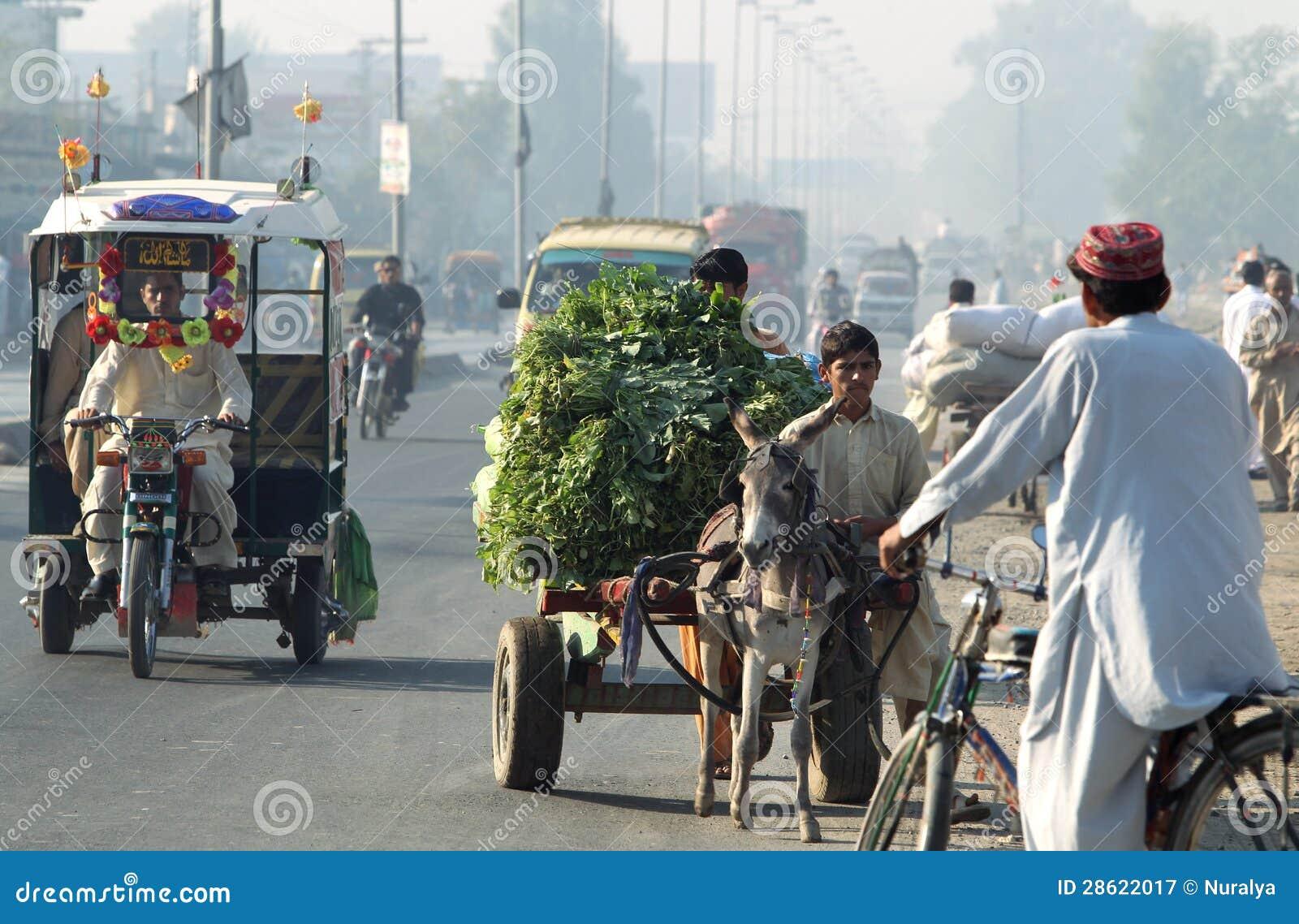 Vida de cada día de Paquistán