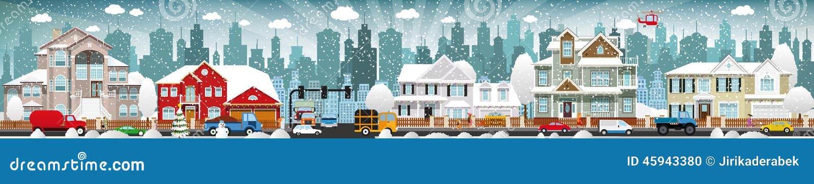 Vida de ciudad (invierno)