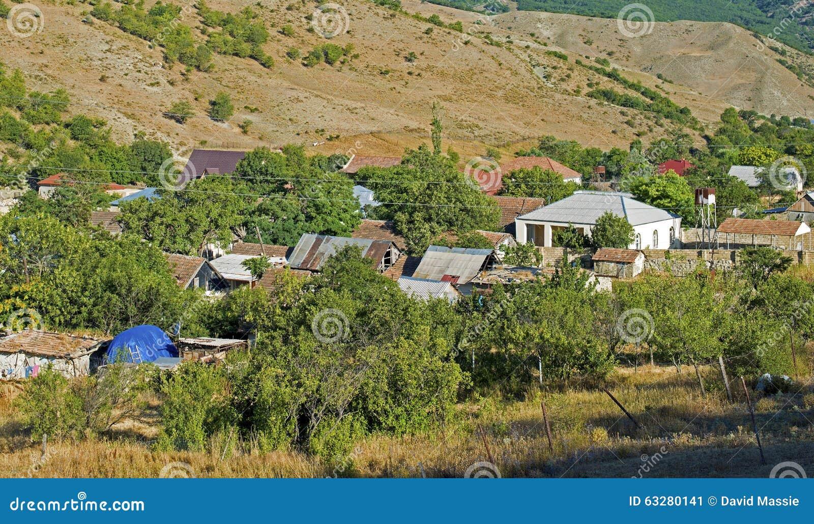 Vida del pueblo en Azerbaijan