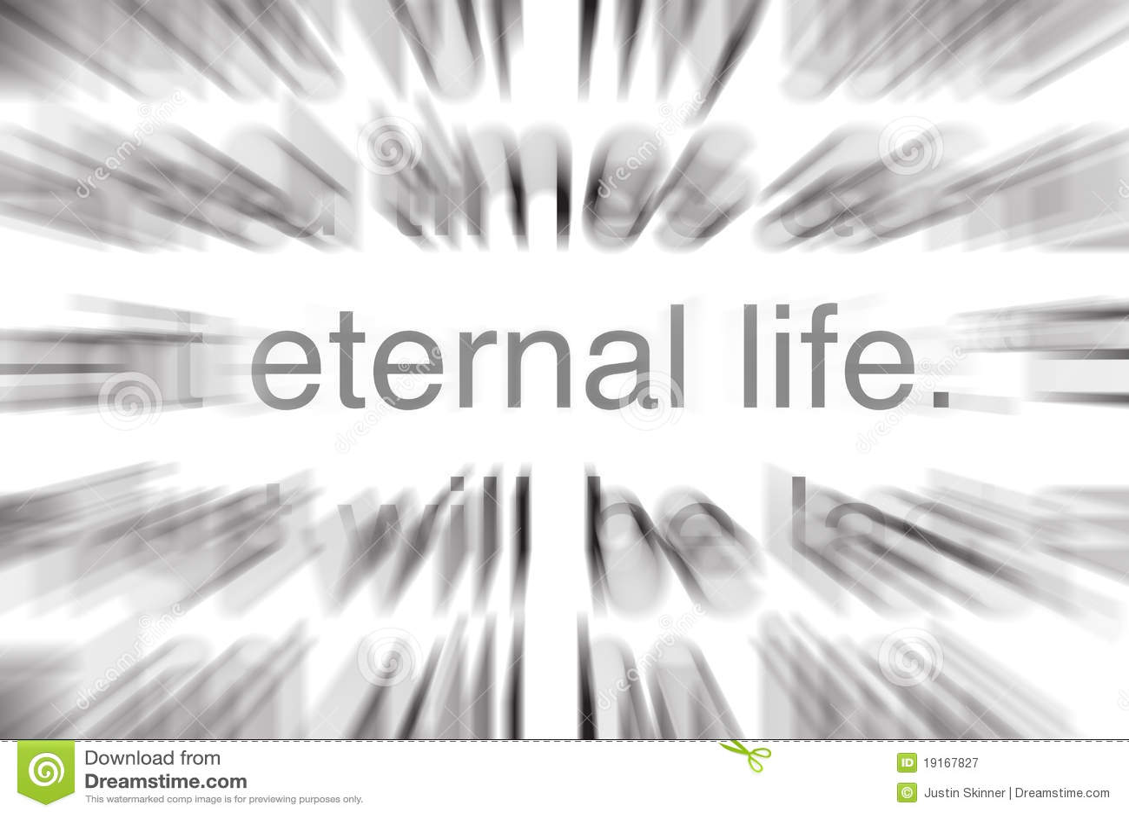 Vida eterna en escritura
