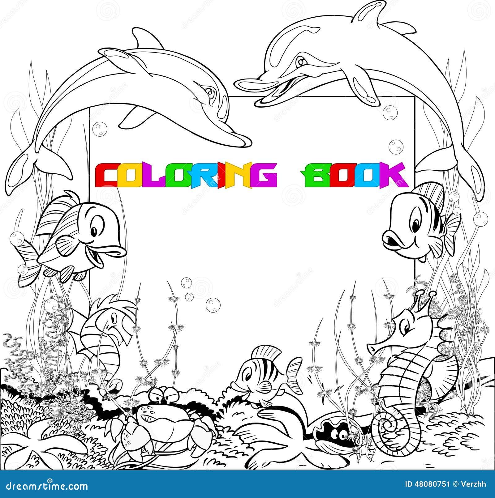 Contemporáneo Colorear Vida Marina Foto - Dibujos Para Colorear En ...