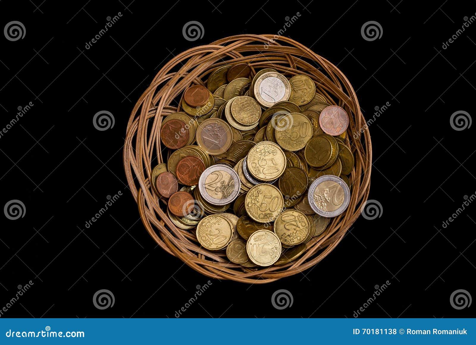 Vide- korg med mynt