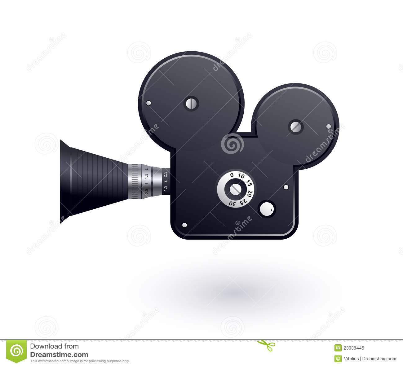 Video Camera Icon Royalty Free Stock Photo - Image: 23038445