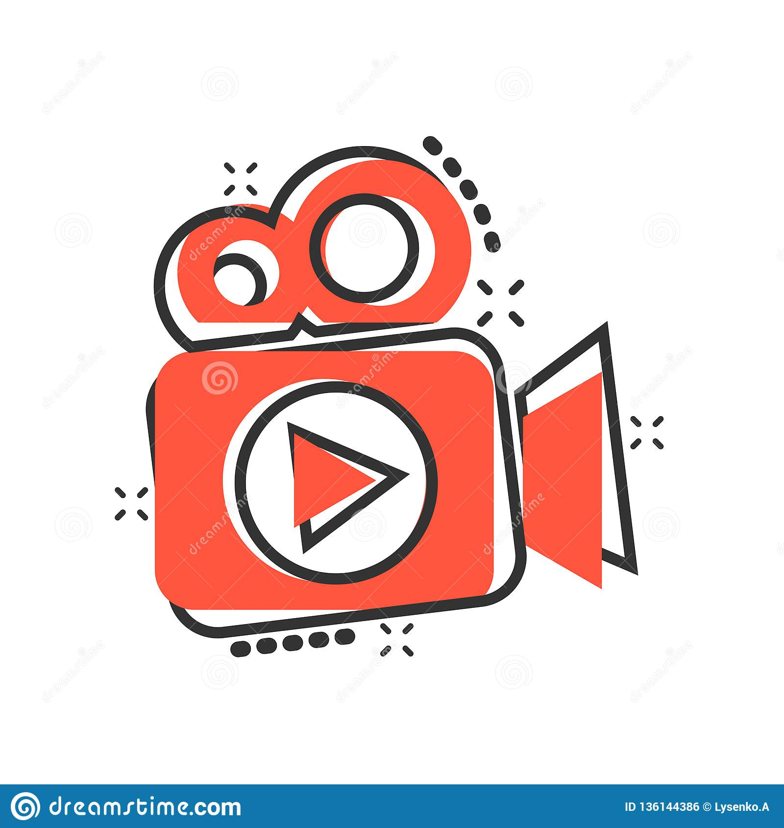 Video Cartoon Stock Illustrations 46 830 Video Cartoon Stock Illustrations Vectors Clipart Dreamstime