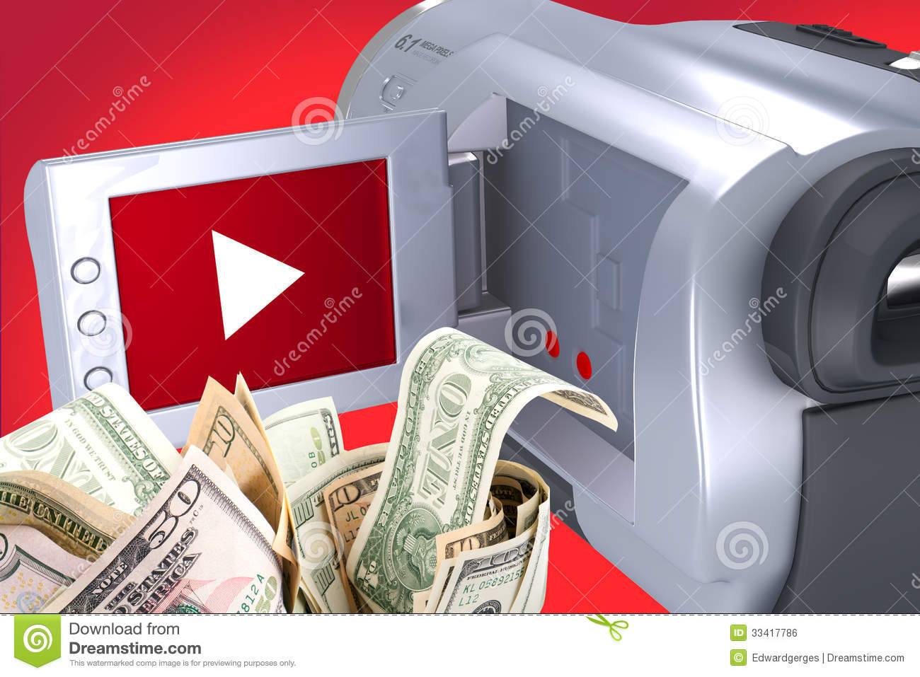how to make money being royality free video