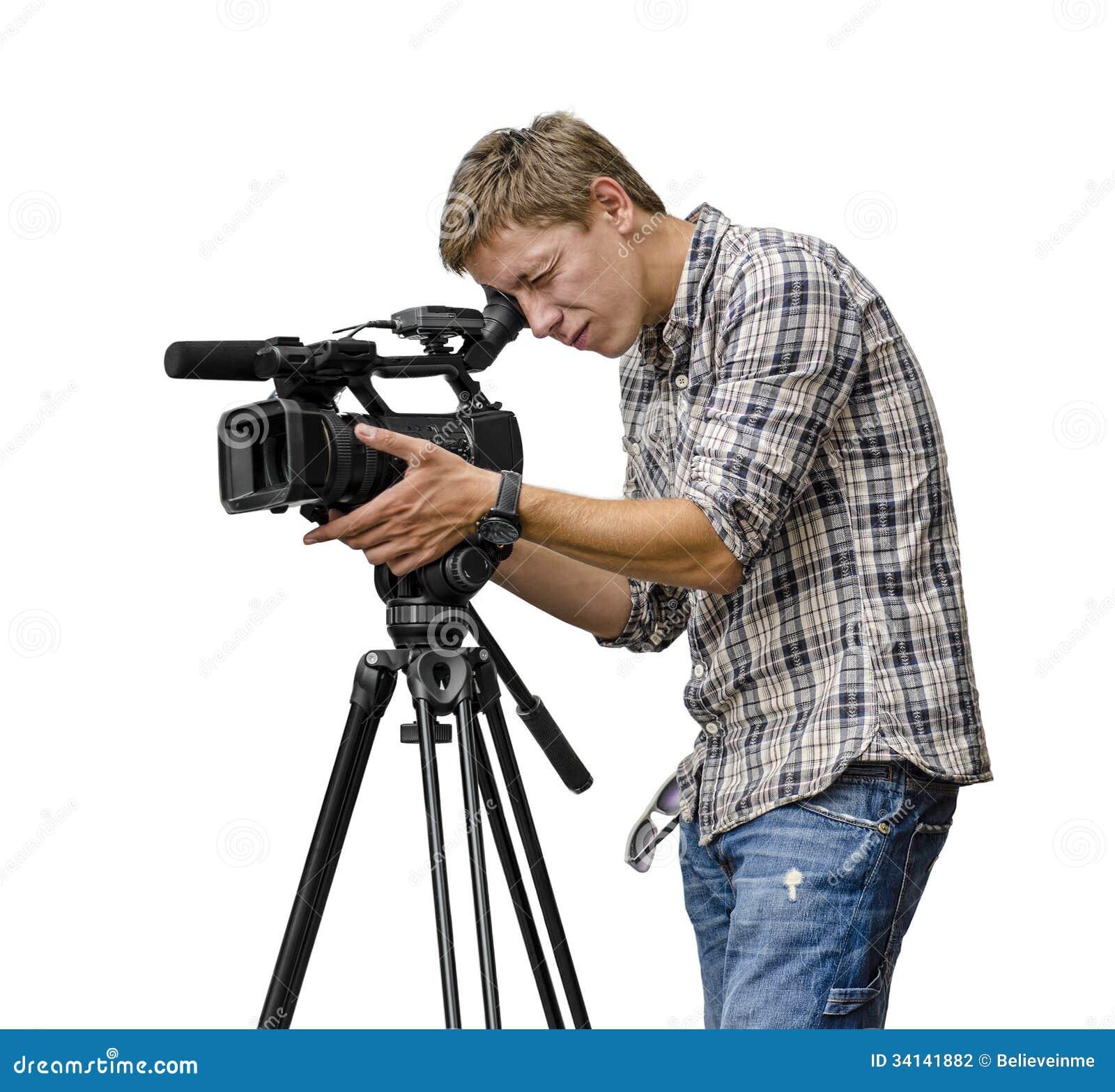 Video Camera Operator Stock Photography - Image: 34141882