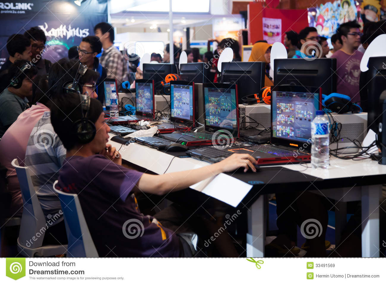 Video Game Competition Stock Image - Image: 10231221
