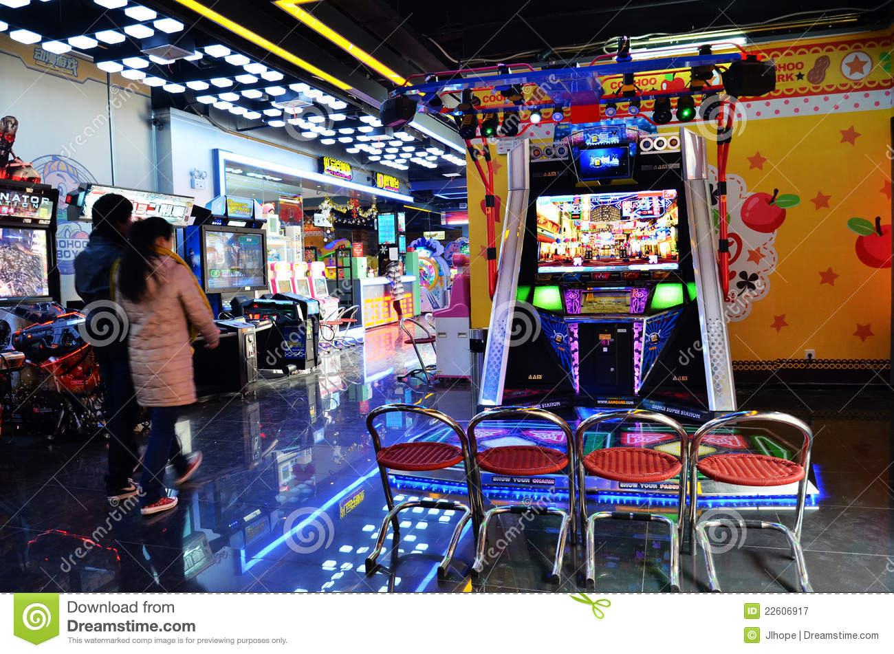 Video Game Room Editorial Photography Image Of Entertainment 22606917