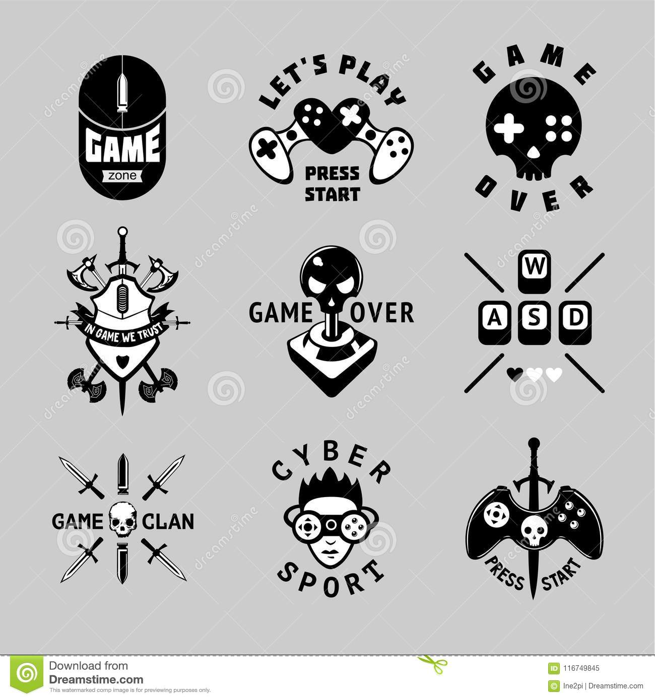 gaming cartoons  illustrations  u0026 vector stock images