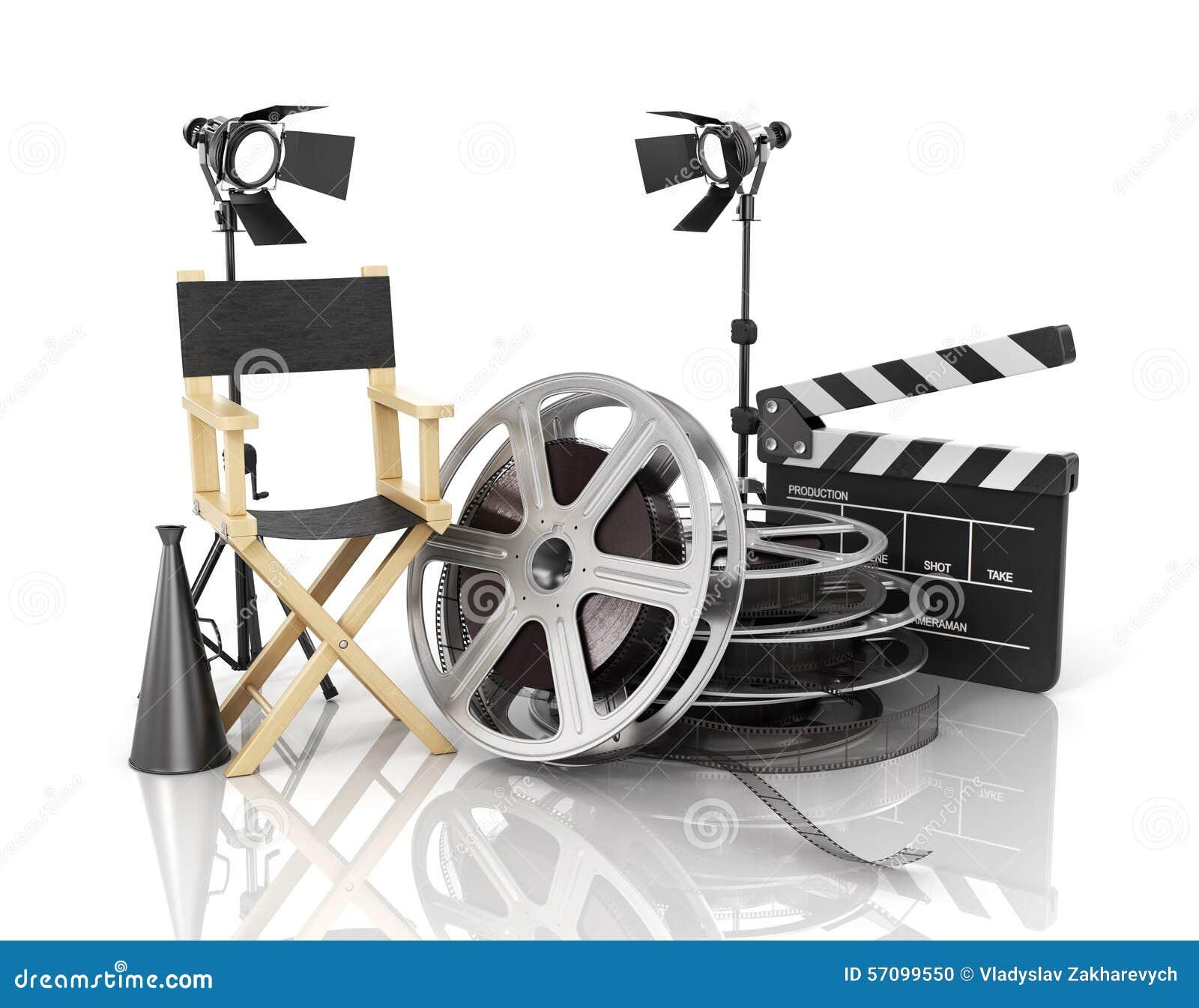 cinema video stock photo cartoondealercom 365778