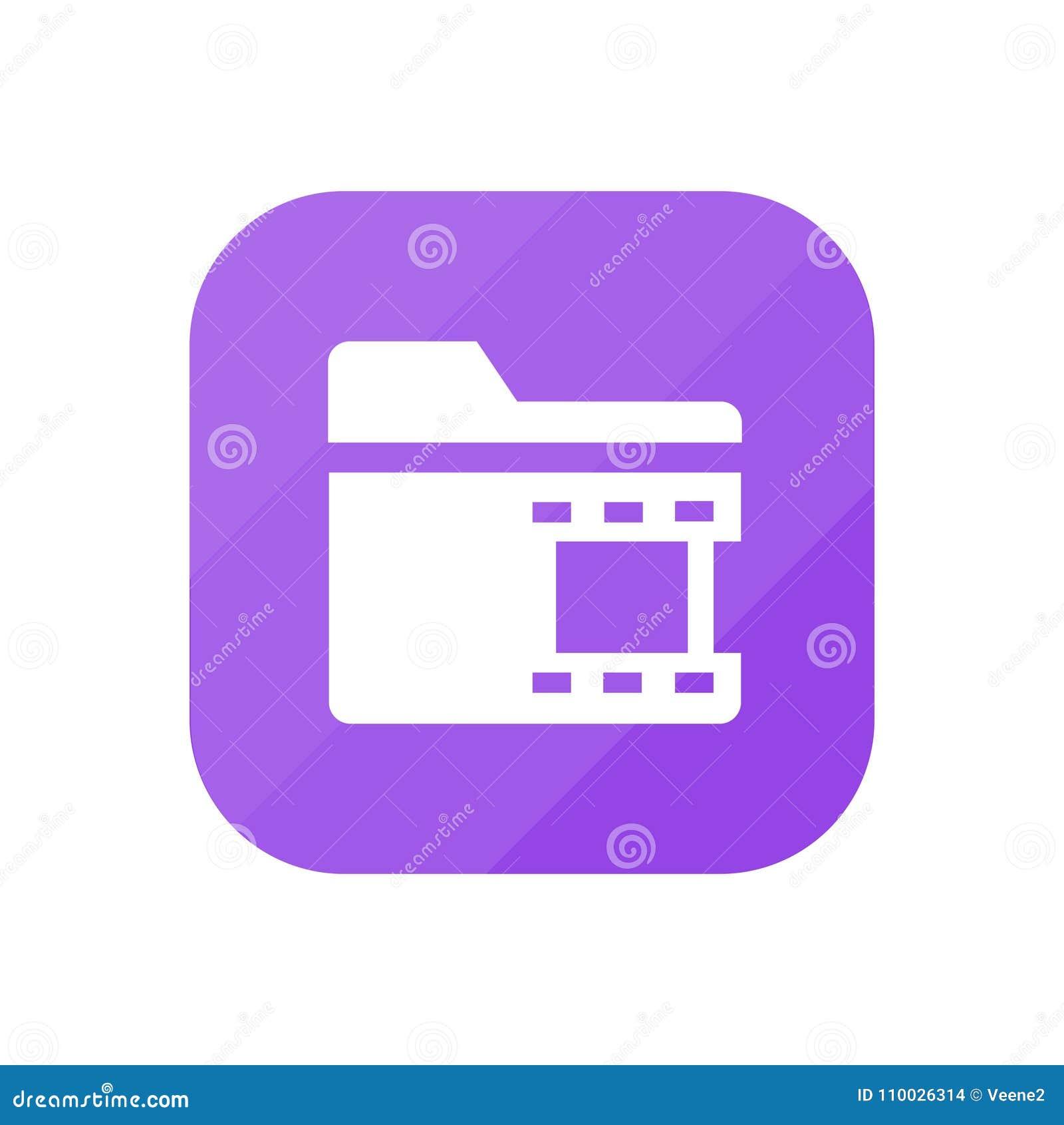 Video somslag - App Pictogram