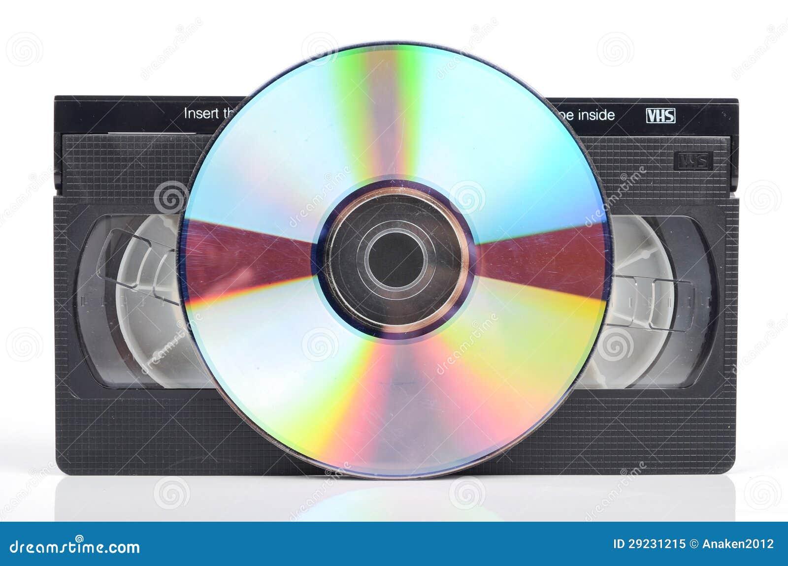 Download Video tape e DVD imagem de stock. Imagem de armazenamento - 29231215