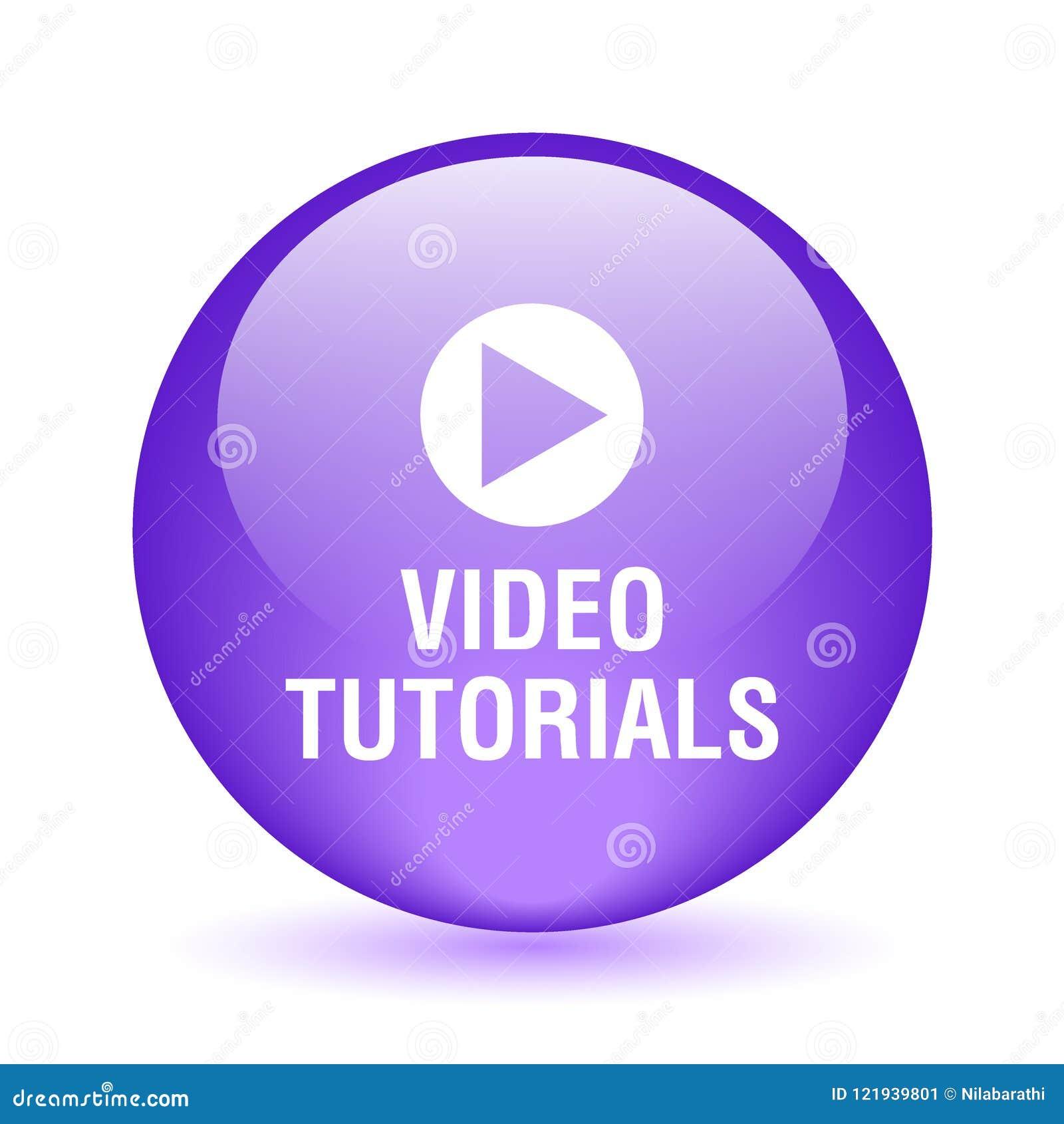 Video tutorial button