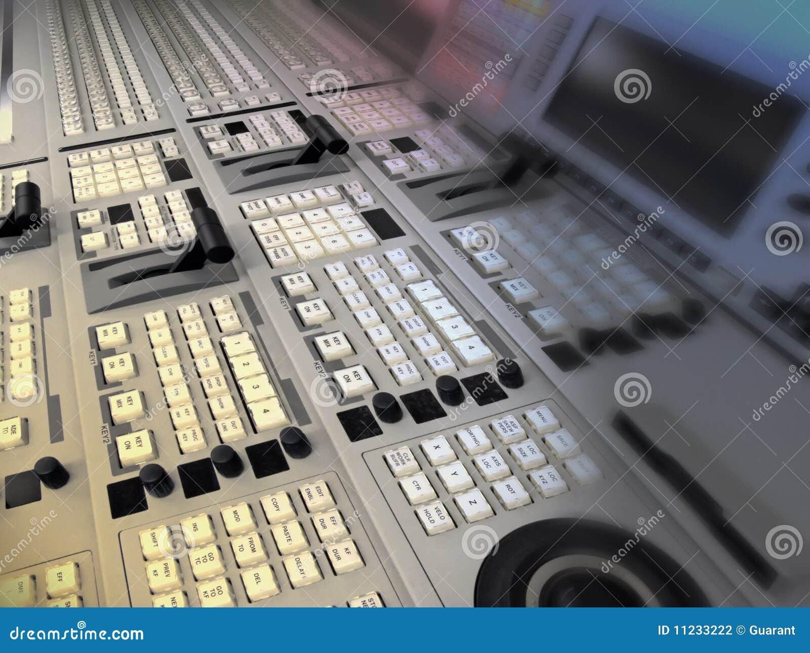 Video und Audiomischersendung