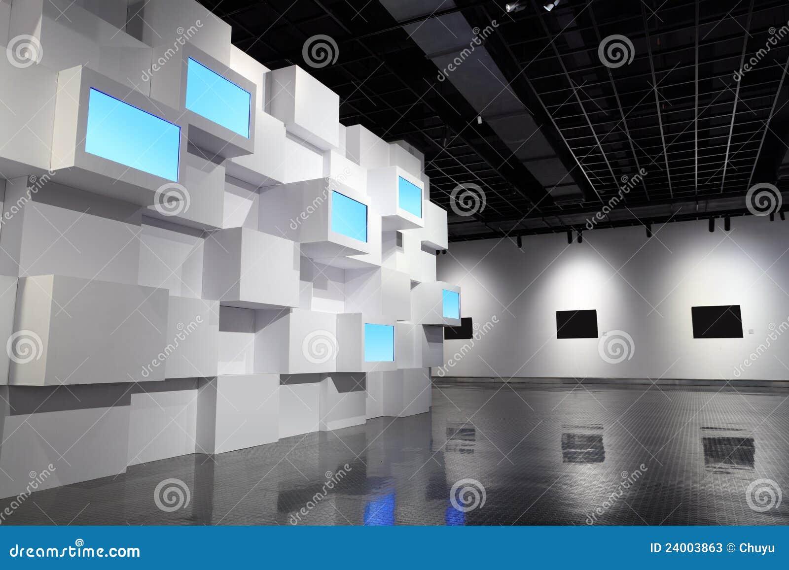 Video Wand Und Bilderrahmen Stockbild - Bild von kunst, zuhause ...