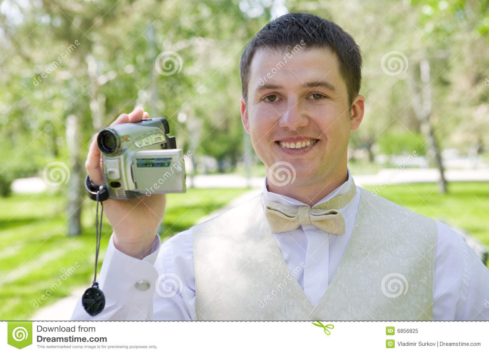 Videocamera человека