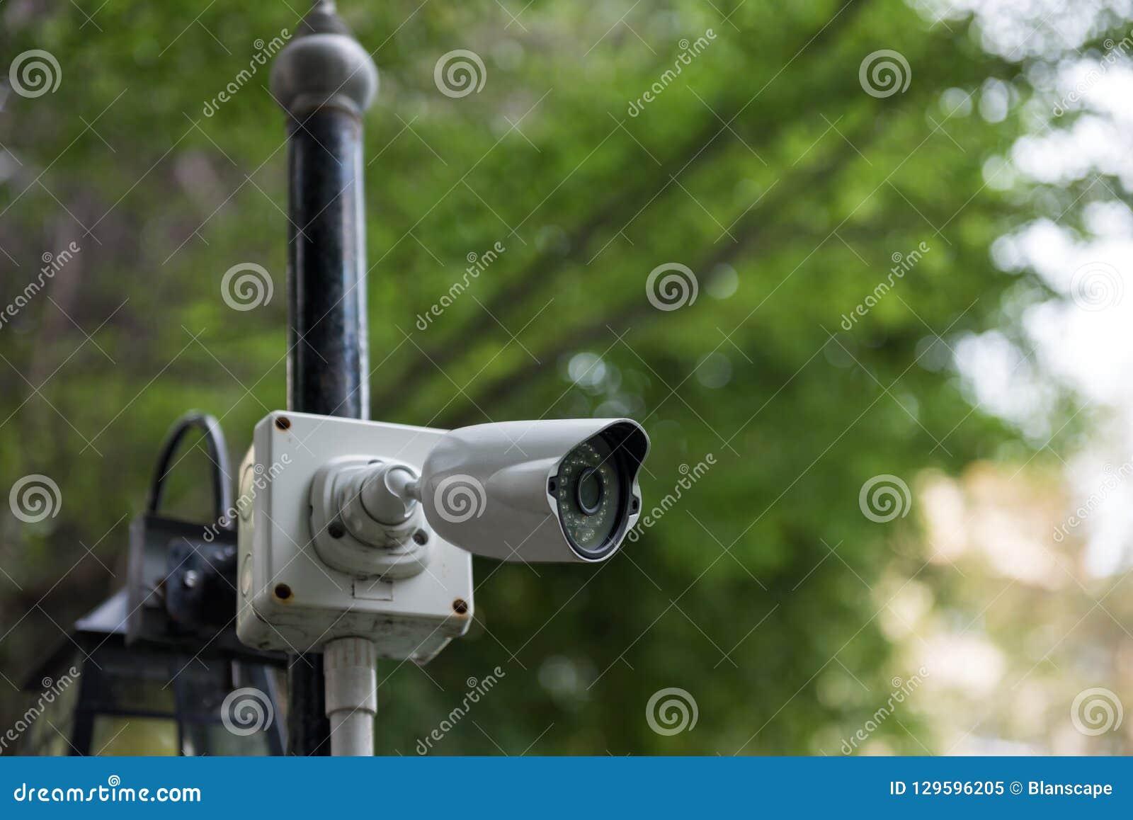 Videocamera di sicurezza all aperto del CCTV