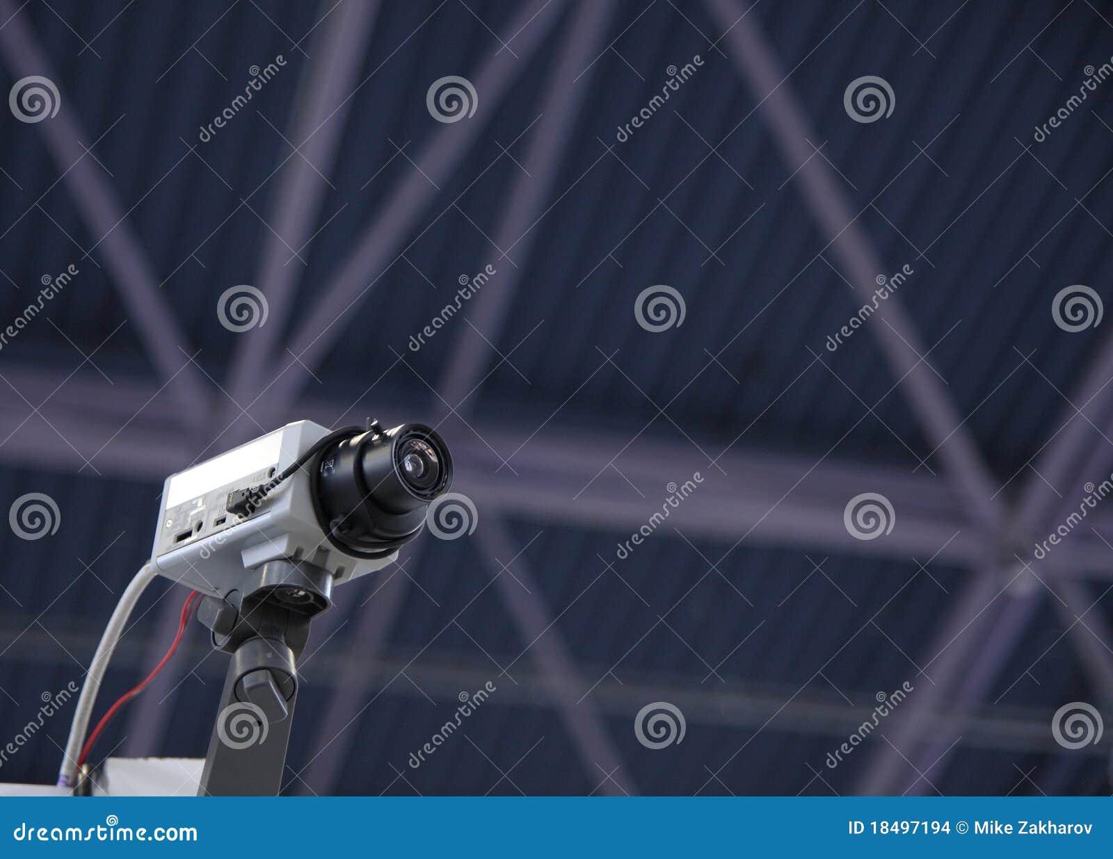 Videocamera di sicurezza del CCTV.