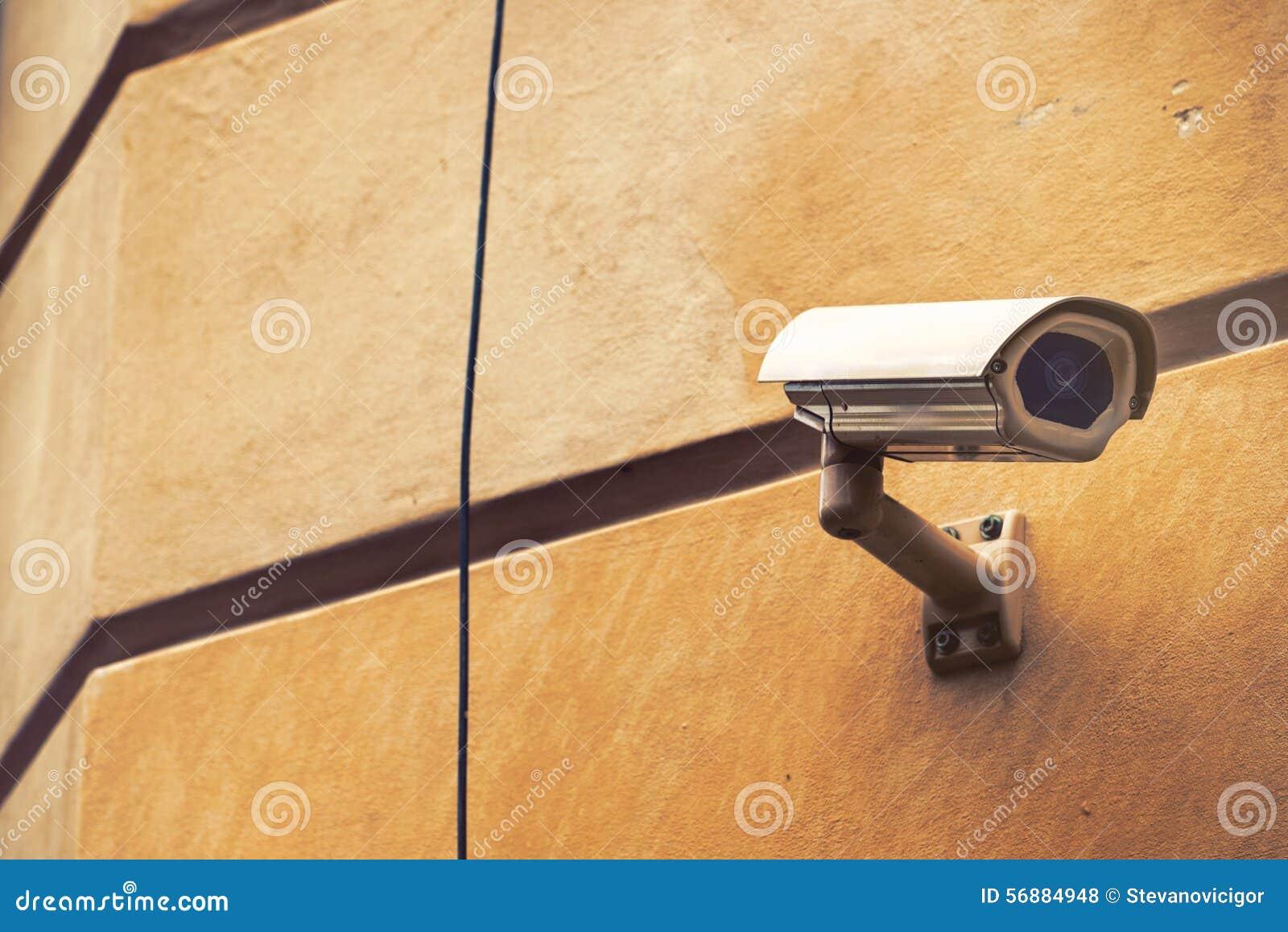Videocamera di sicurezza del CCTV per sorveglianza della proprietà privata