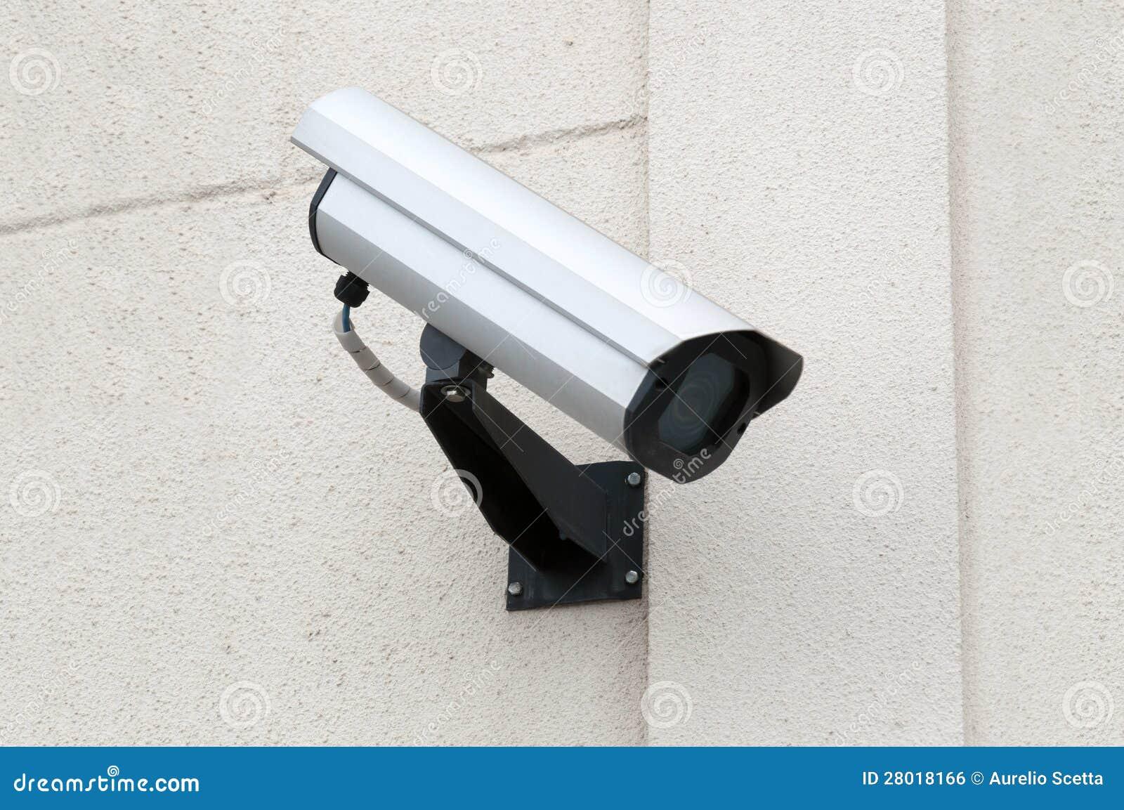 Videocamera di sicurezza di sorveglianza immagine stock - Videocamera di sicurezza ...