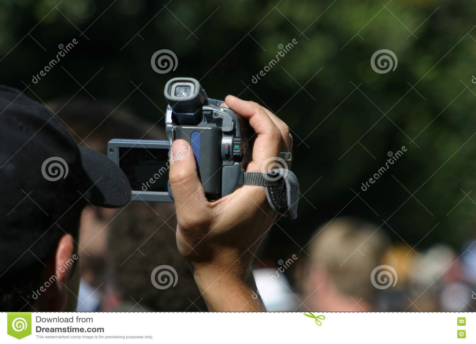 Videographer przy pracą