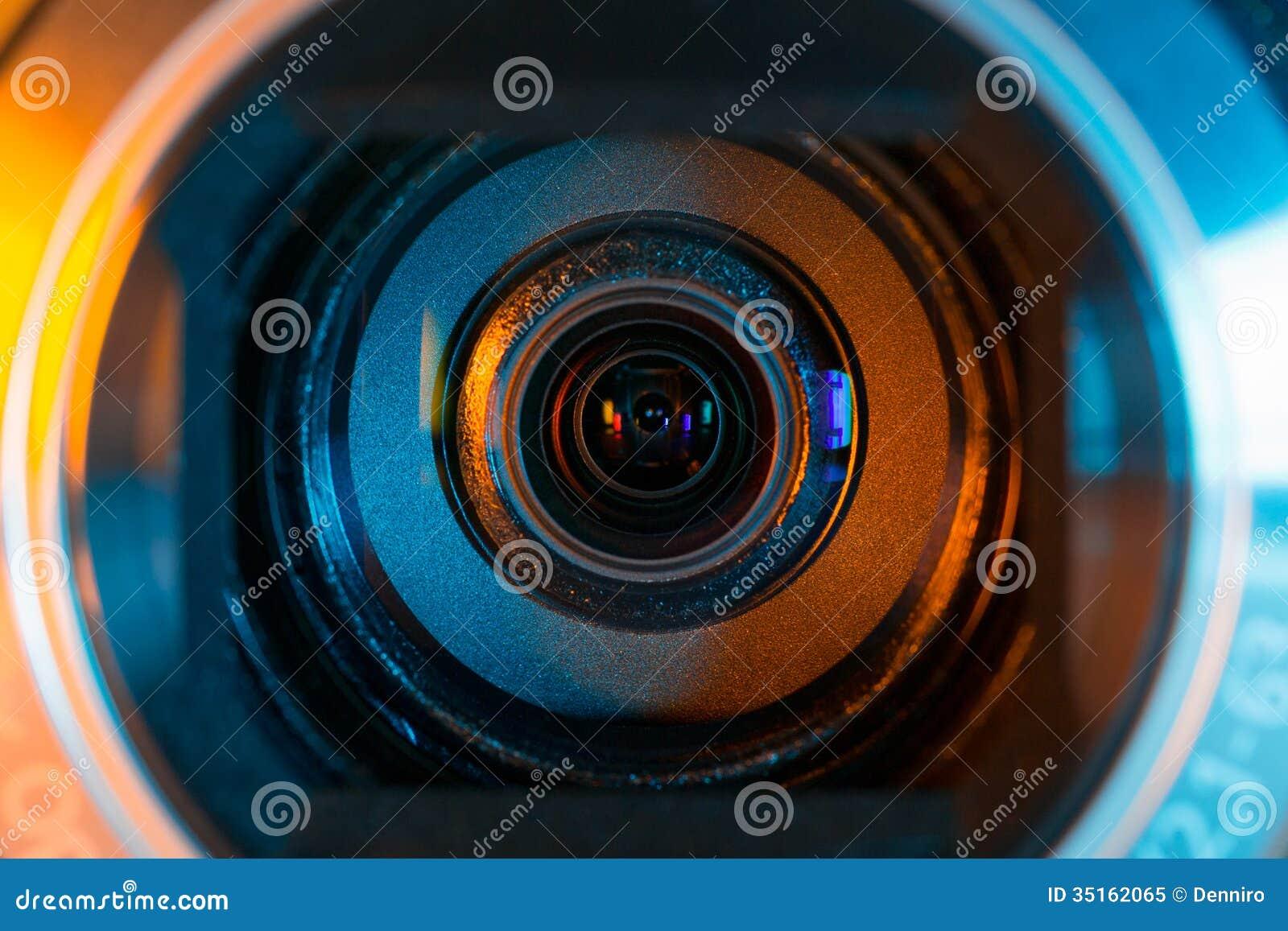 Videokameralinse