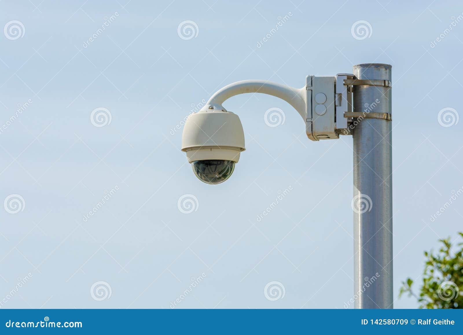 Videopp utrymmen för bevakning offentligt