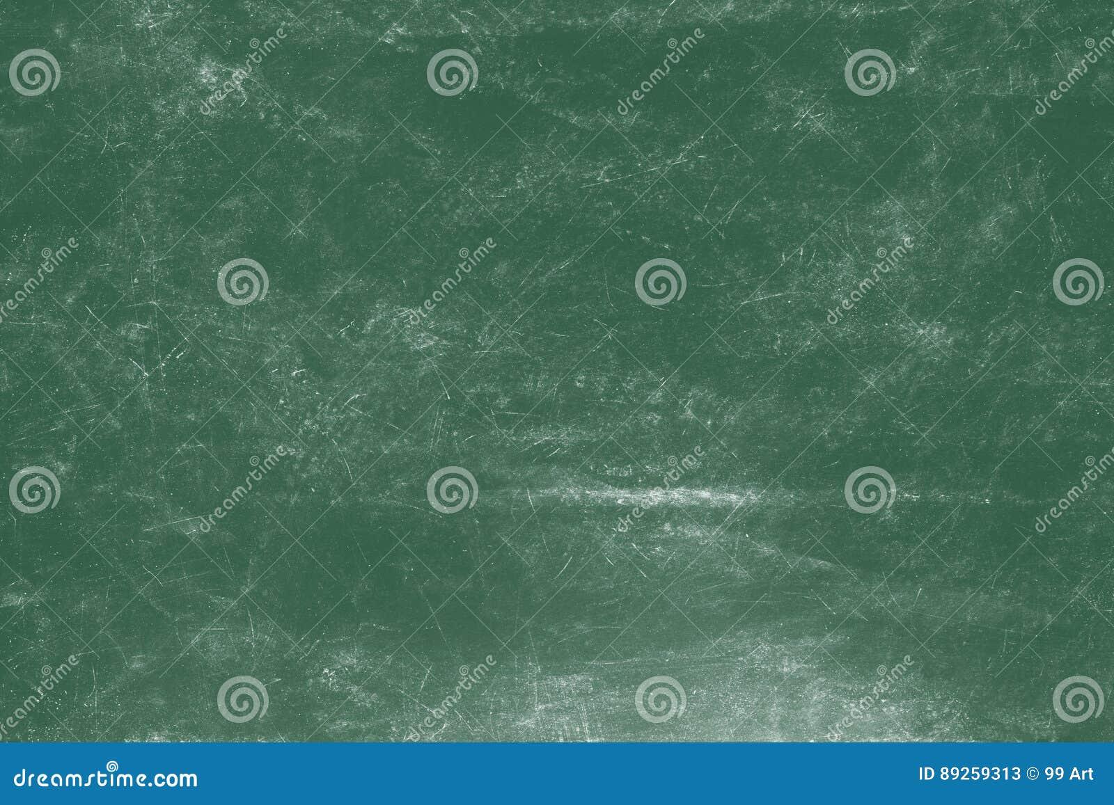 Videz le fond vert de panneau de craie, fond vide de tableau noir