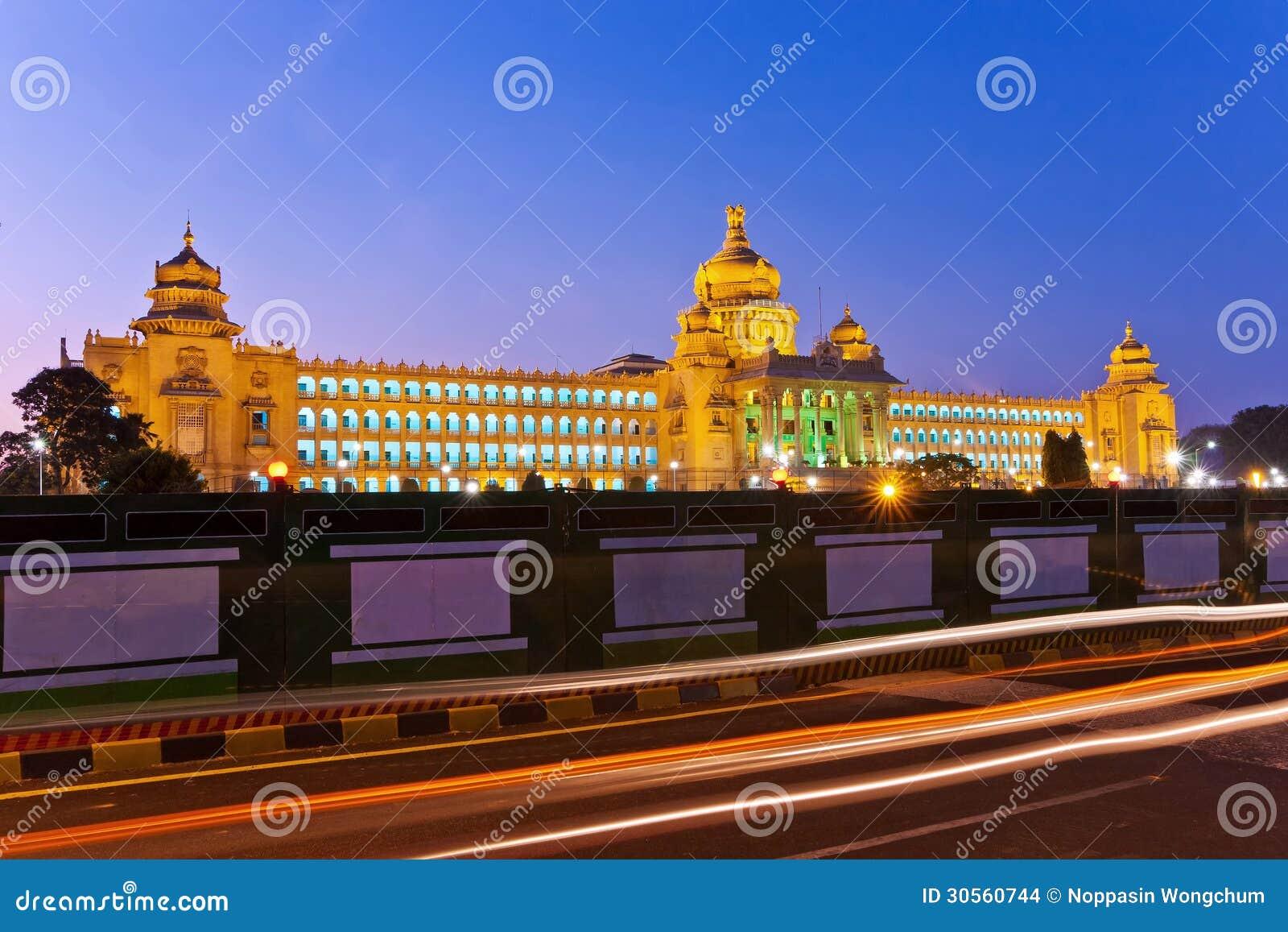 Vidhana Soudha die staatliche Gesetzgebung