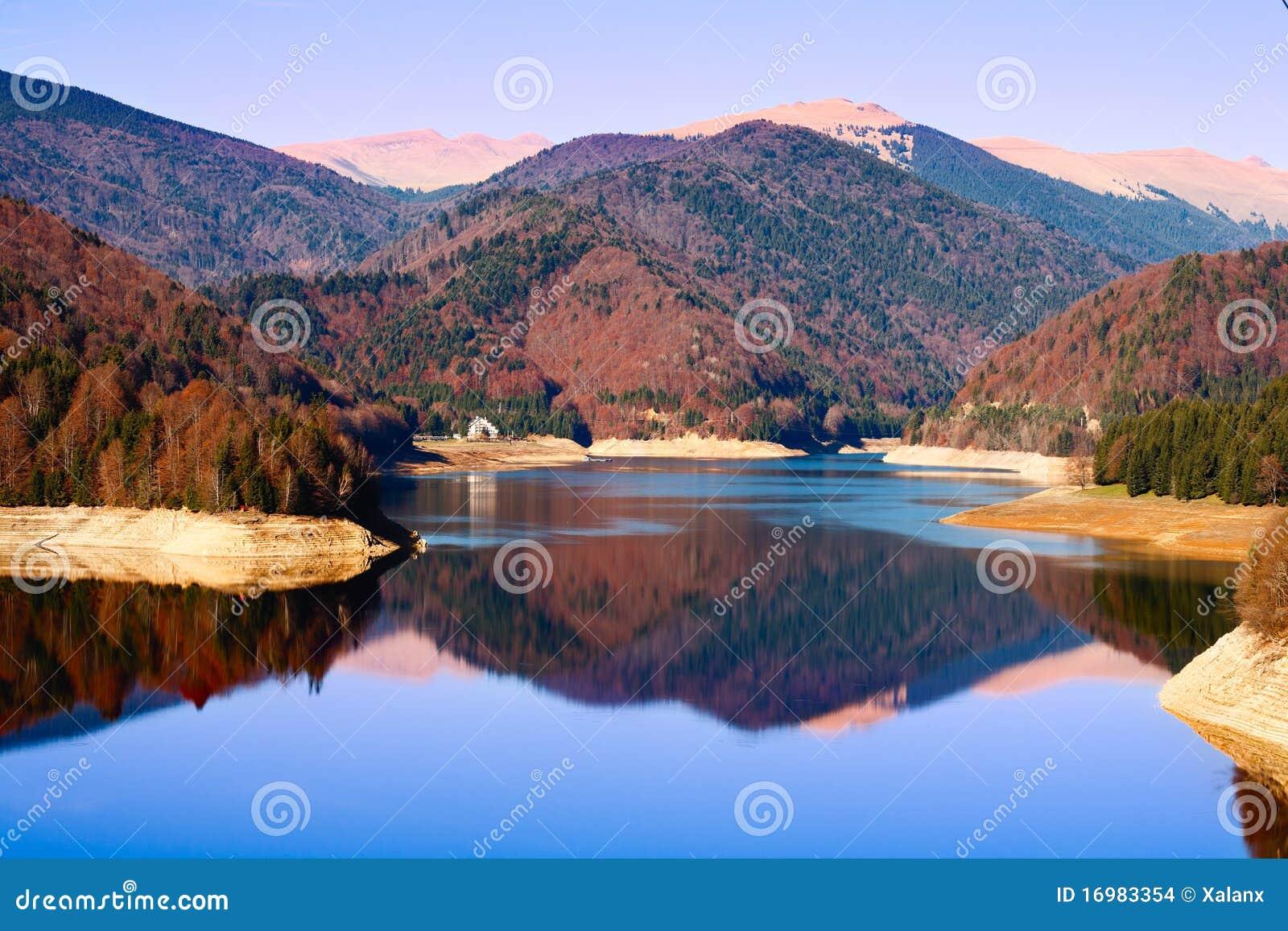 Vidraru Lake in Romania