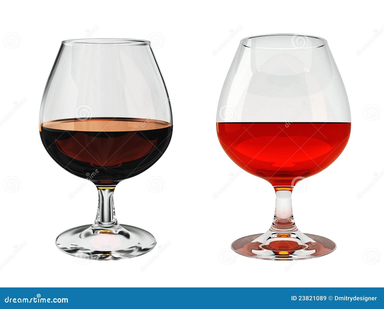 Vidrio de brandy