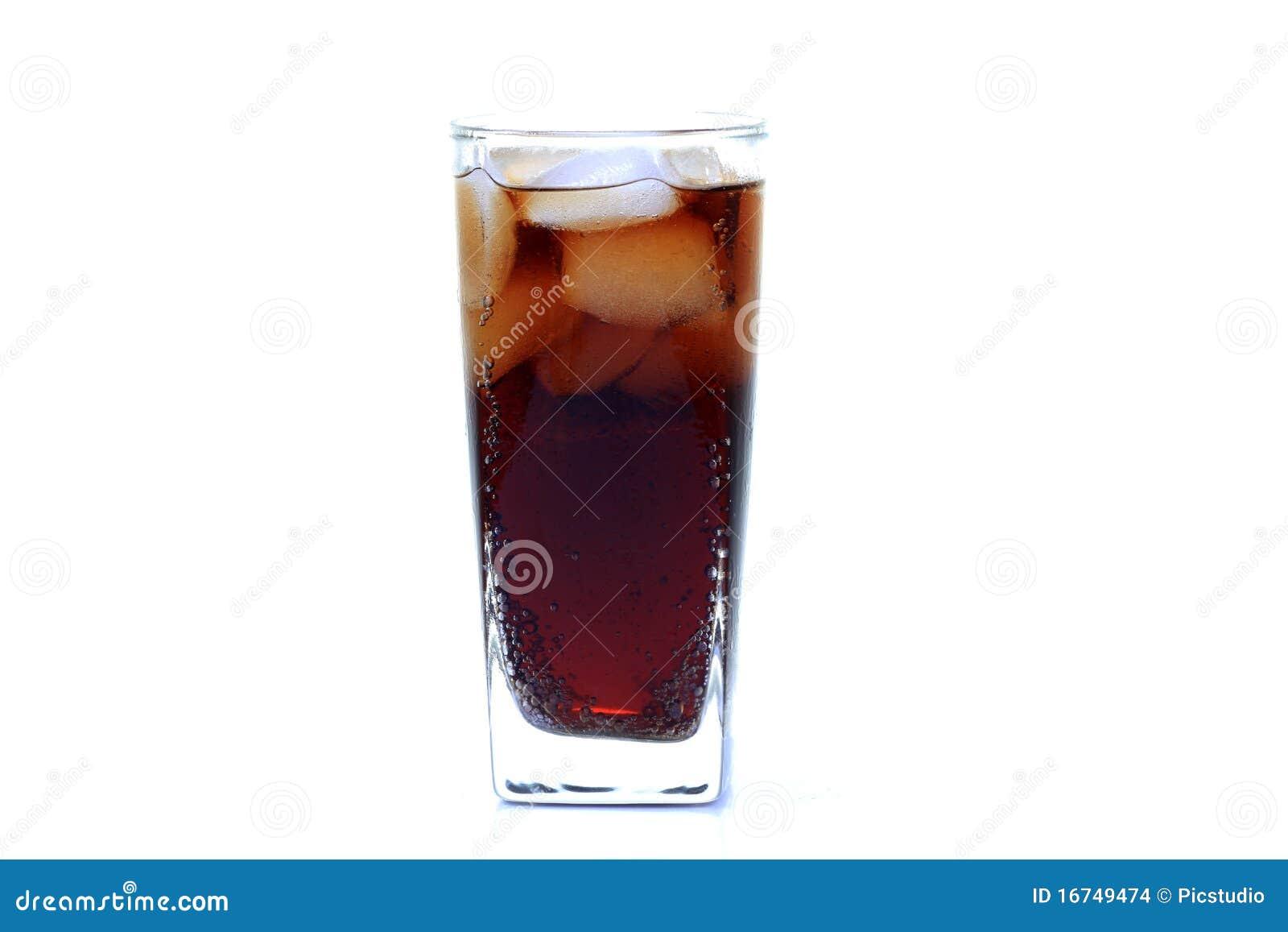 Vidrio de la bebida de la energía