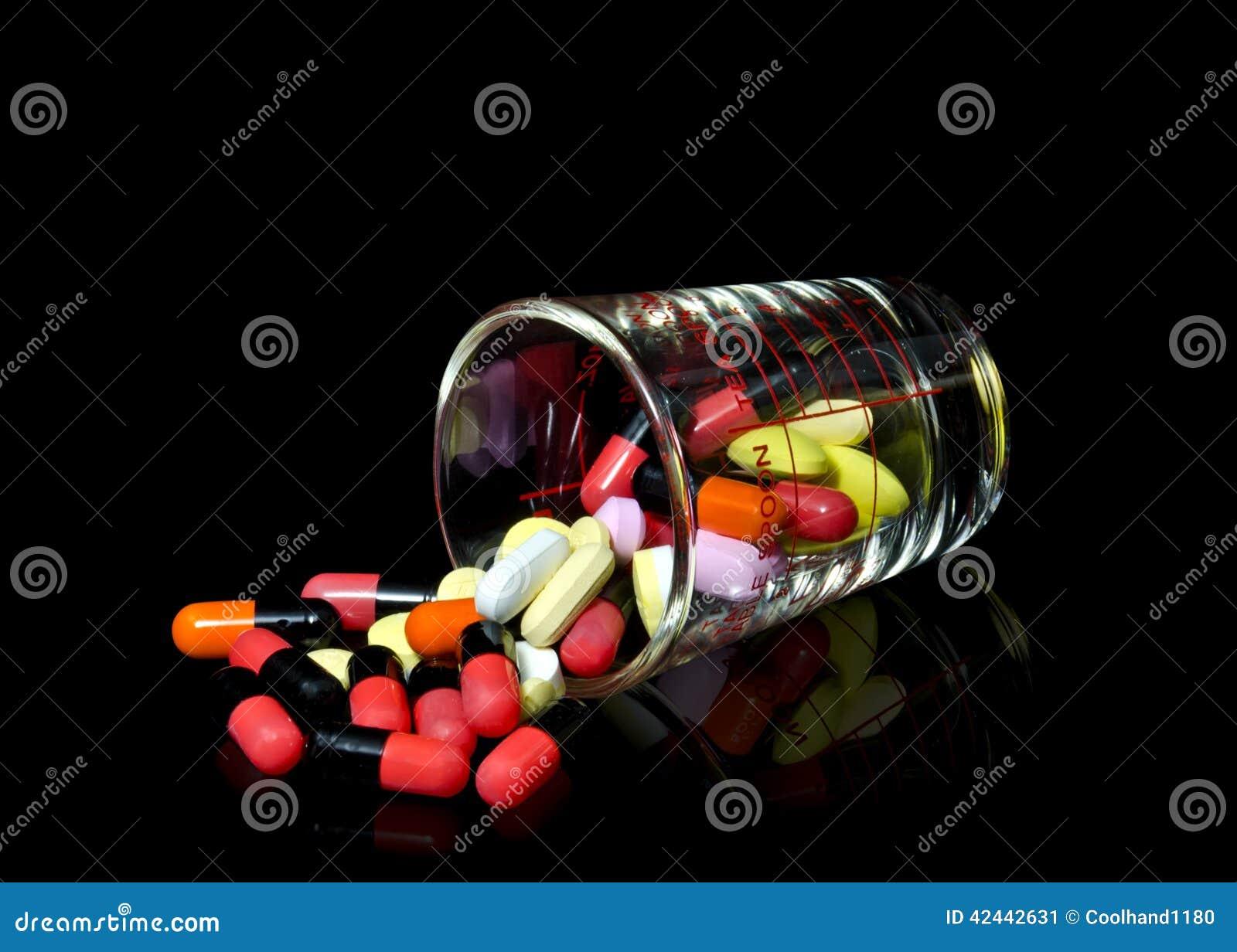 Vidrio de píldoras