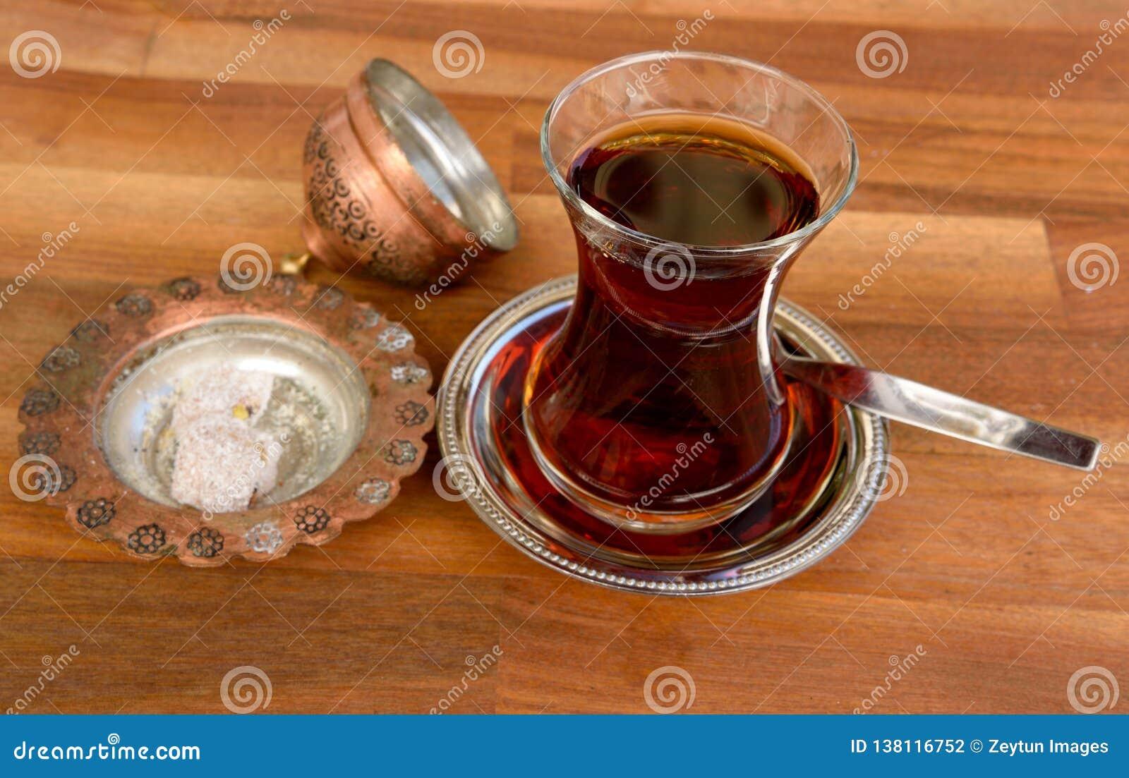 Vidrio de té turco