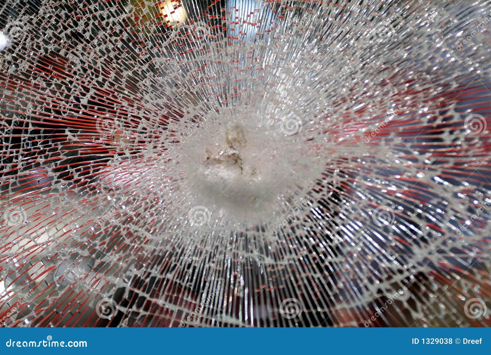 Vidrio quebrado foto de archivo imagen de accidente armado 1329038 - Precio cristal blindado ...