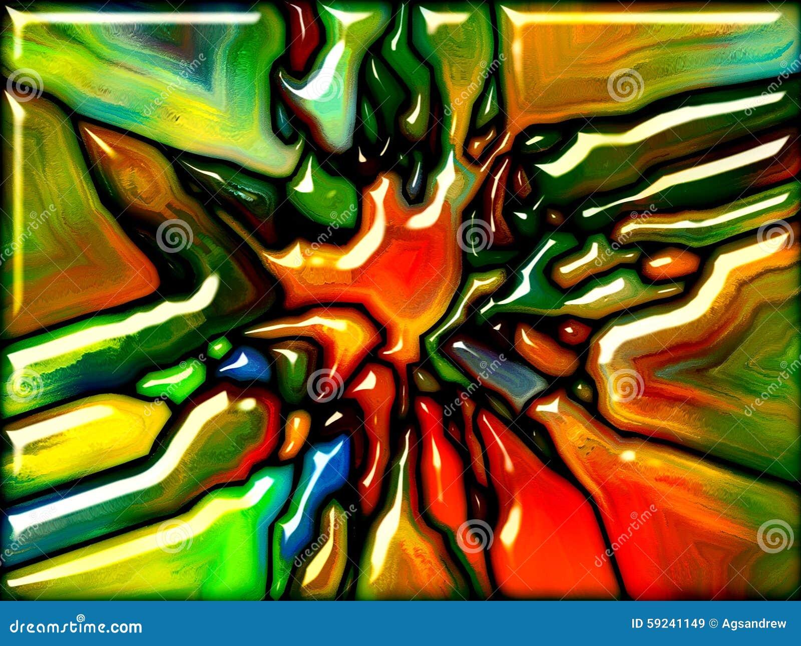 Download Vidrio sintético stock de ilustración. Ilustración de cristal - 59241149