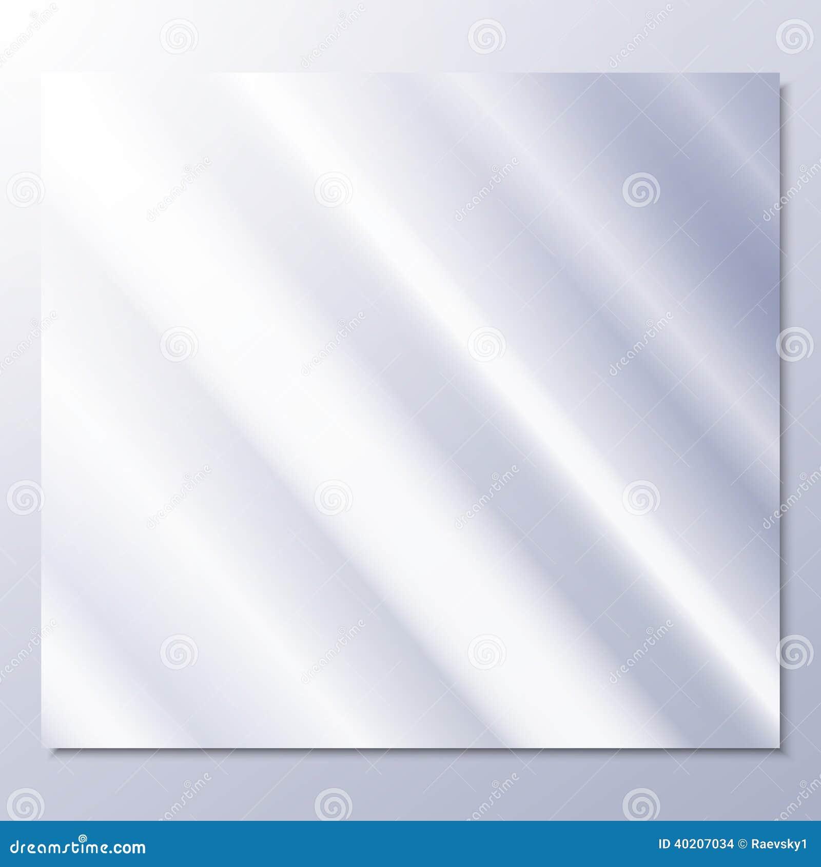 Vidrio transparente en un vector gris del fondo ilustraci n del vector ilustraci n de arte - Vidrio plastico transparente precio ...